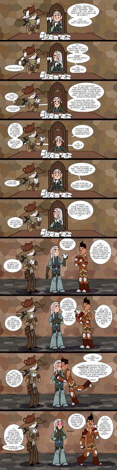 Dragon Age Fun 'Shades of White by JasmineAlexandra.deviantart.com on @DeviantArt