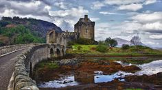GC13YP7 Geocache located at the Eilean Donan island castle.  Source: drronson.