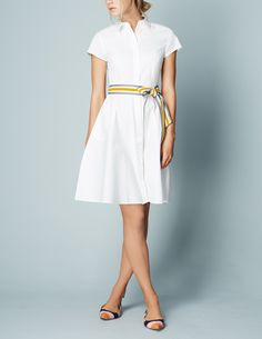 Sophia Shirt Dress WH987 Shirt Dresses at Boden