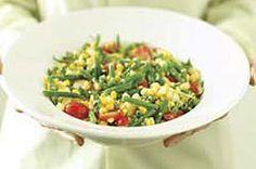 Fresh-from-the-Cob Corn Salad Recipe - Kraft Recipes                         musica                         juegos