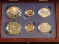 1991 US Mount Rushmore 6-Coin Commemorative Set w/ COA & OGP