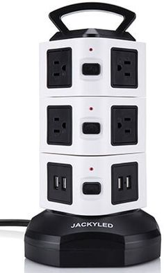 Beautiful Under Table Power Strip