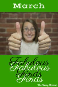Powerful parenting advice, practical ways to savor your kids, tips to declutter in mere minutes, and a delicious real food recipe. Plus, my favorite products from the month. It's March's Fabulous Finds!
