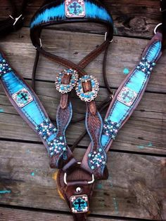 """The """"Hannah"""" Tack set Equestrian Outfits, Equestrian Style, Westerns, Western Horse Tack, Western Riding, Barrel Racing Tack, Piercings, Tack Shop, Horse Accessories"""