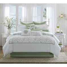 Harbor House Brisbane Sage Green Comforter Set