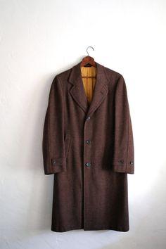 Original 1940's CC41 Ladies Brown Tweed Coat Size 12? | Outerwear ...