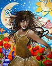 'Free Spirit' Art Print by Cherie Roe Dirksen South African Artists, Art Portfolio, E Cards, The Life, Free Spirit, Art For Sale, Poppies, My Arts, Wonder Woman