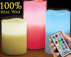 Glow Candles |  568+ As Seen on TV Items: http://TVStuffReviews.com/glow-candles