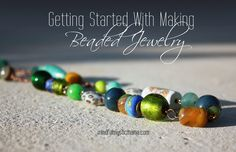 getting started with beaded jewelry