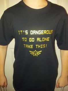 Legend of Zeldal Inspired TShirt  It's by JustAnAwesomeMom on Etsy, $12.00