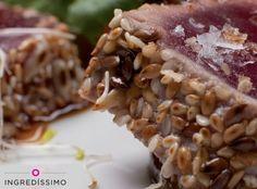 #Receta: Tataki de atún con Mix de 5 Semillas Tostadas, fácil y delicioso