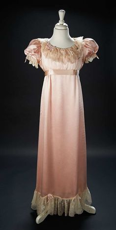 """Love, Shirley Temple, Collector's Book: Lot # 496: Rose Satin Nightgown Worn by Shirley Temple in the 1940 Film """"The Blue Bird"""""""
