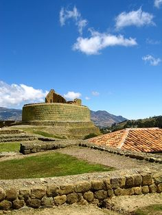 "Ingapirca or the ""Inca wall"" is the best preserved Inca ruins in Ecuador."
