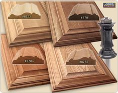 MLCS carbide tipped mitered door frame router bits and kits are an easy way to create dramatic raised panel doors