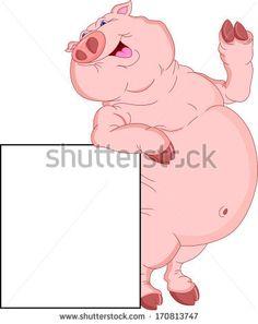 Animated Clip Art Free | Cartoon Pig Clip Art - Cute Pig | Shady ...