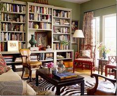 bookshelf // living room // schuyler samperton interior design