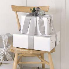 Wrapping Paper - White | The White Company #whitechristmaswishlist