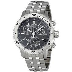 Tissot PRS 200 Chronograph Black Dial Quartz Sport Mens Watch T0674171105100 Tissot