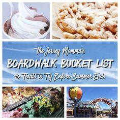 The Jersey Momma: New Jersey Boardwalk Bucket List: 10 Boardwalk Treats to Try Before Summer Ends