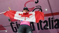 With his Giro d'Italia win, Ryder Hesjedal has ridden his way into the who's who of Canadian sports. Photo: AP/Fabio Ferrari