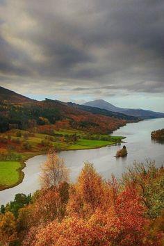 Loch Tummel, Scotland!