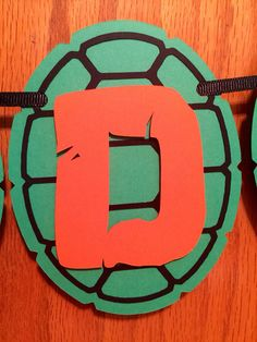 Teenage Mutant Ninja Turtles Banner TMNT Birthday by CraftiAbi
