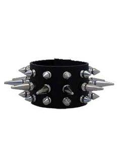 Wristband 143SLS - punk, gothic, leather wristbands