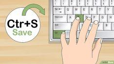 Das 10 Finger System lernen: 15 Schritte (mit Bildern) – wikiHow 10 Finger System Lernen, Der Computer, Memes, Learning, Words, Tips, Blog, Helfer, Lifehacks