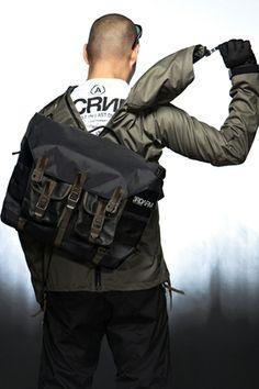 ACRONYM E-J23 Lightshell Epic Vehicular Jacket - can unzip w/ messenger bag on