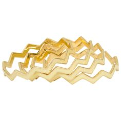 Kirra Tate Chevron Cream Bracelet Set. #laylagrayce #kirratate