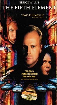 The Fifth Element (1997) a film by Luc Besson + MOVIES + Bruce Willis + Gary…
