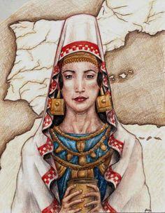 Las duras mujeres íberas según Estrabón.