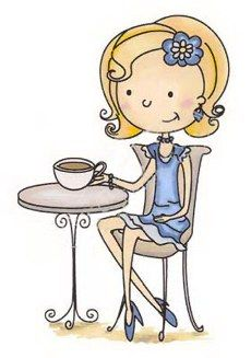 Having tea alone and wishing so much that there was a friend to have tea with! Aline