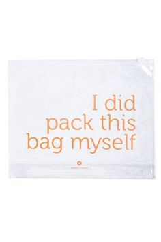 Travel bag :-).