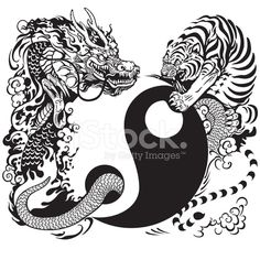 59973496-yin-yang-with-dragon-and-tiger-fighting.jpg (440×440)