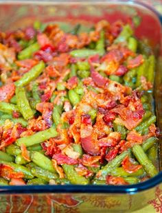 Crispy Crack Green Beans - Recipe, Vegetable Side Dish, Bacon, Great, Holidays, Quick, Easy