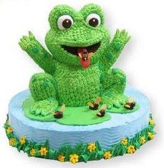 frog birthday cake - Google Search