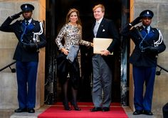 Dutch Royals at New Year Reception