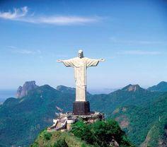 Le Christ Rédempteur, Rio de Janeiro - une des 7 merveilles du monde ®TO Bresil #VoyagesPassionTerre