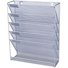 office paper holders. Revistero De Pared Pl Od Metal Perf Office Paper Holders
