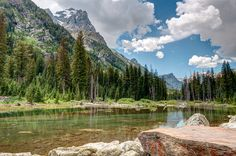 The Rocky Mountains in Wyoming. Landscape  photography by John Strother of the panafoot.com travel blog
