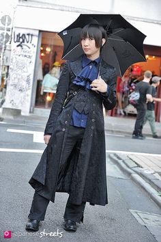 120819-2335 - Japanese street fashion in Harajuku, Tokyo (Zacc, Atelier Boz, Black Peace Now, ALICE and the PIRATES)