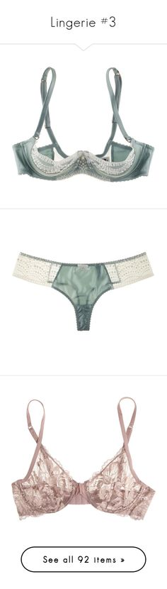 """Lingerie #3"" by julietta-28-07 ❤ liked on Polyvore featuring intimates, bras, lingerie, underwear, undergarments, lingerie bras, demi cup bra, blue bra, blue lingerie and padded lingerie"