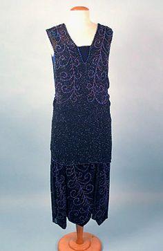 Chanel Beaded Dress, 1920s