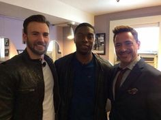 Captain America, Black Panther, and Iron Man - Cap 3: Civil War