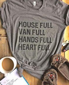 Heart Full Short Sleeve Boyfriend Tshirt - Gray