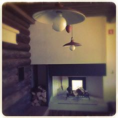 ..view on fireplace...