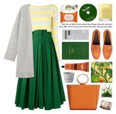 """full pleated midi skirt"" by jesuisunlapin ❤ liked on Polyvore featuring Olivia Collings Antique Jewelry, Etro, Rochas, Jo Malone, Bougeotte, MANGO, Sloane Stationery, Dr. Dennis Gross Skincare, Neon Hart and Aesop"