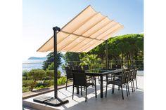 #Hespéride - Store Cabriolet Costa Rica - 299 € - Avec son design épuré et contemporain, le store Cabriolet Costa Rica vous permettra de profiter du soleil à votre guise grâce à sa toile rétractable et inclinable ! http://www.hesperide.com/tonnelle-parasol/pergola-tonnelle-store/store-double-pente-cabriolet/store-cabriolet-costa-rica/67193.html?cmpid=pinterest&utm_source=pinterest.com&utm_medium=referral&utm_campaign=pont_storecostarica_20150421