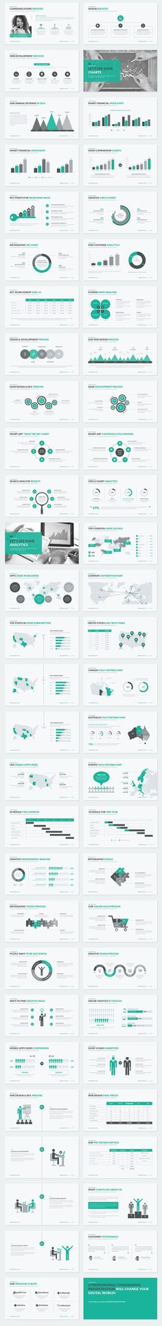 Business Proposal PowerPoint Template on Behance: